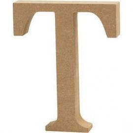 MDF Letter T 13 cm