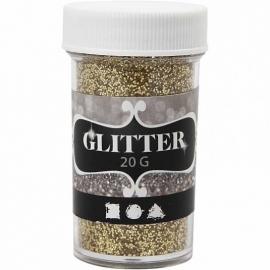 Glitter Goud - fijn - 20 gr