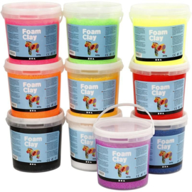 Foam Clay - Klei - 10 x 560 gram