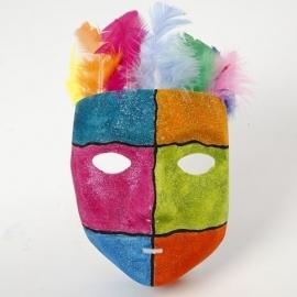 Masker Venetie - wit
