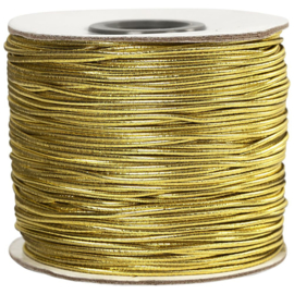 Elastisch Koord Goud | dikte 1 mm | 100 meter