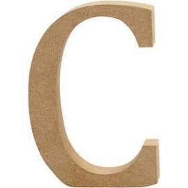 MDF Letter C 13 cm