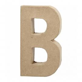 Papier-mache Letter B | 20 cm