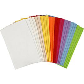 Hobbyvilt - 20 x 30 cm - 24 vellen - 10 kleuren