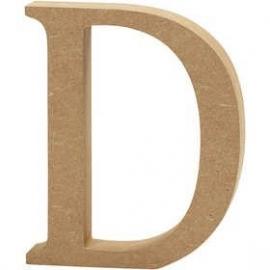 MDF Letter D 13 cm