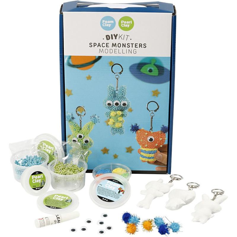 Knutselpakket Space Monsters