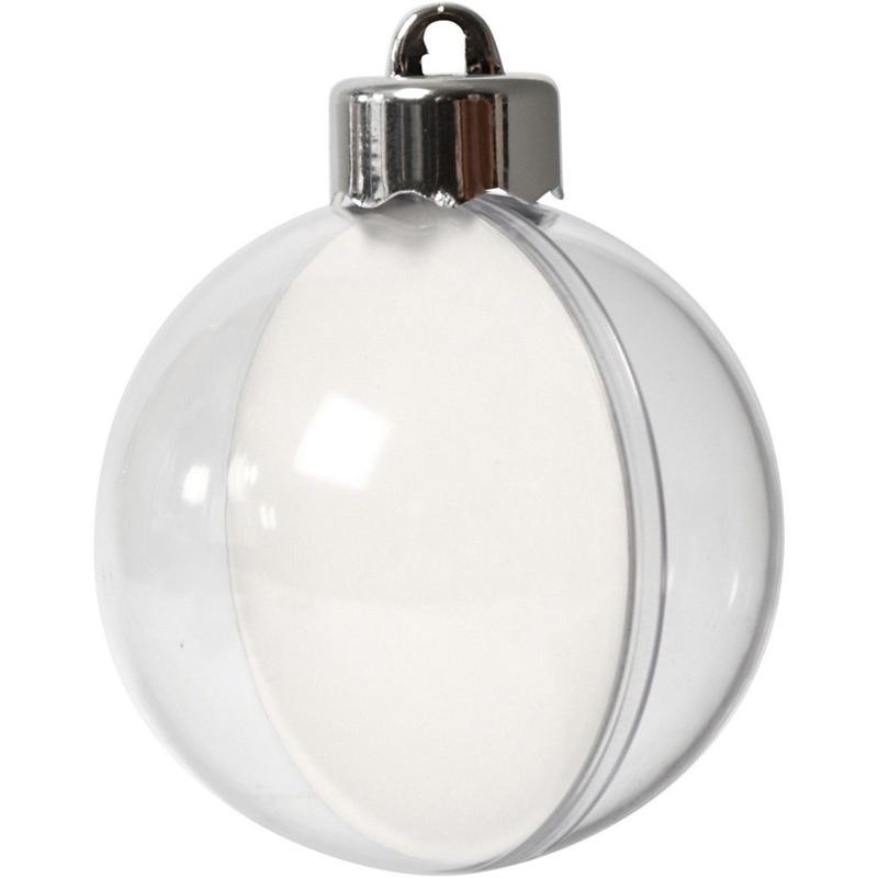 Kerstbal Acryl - 5 cm