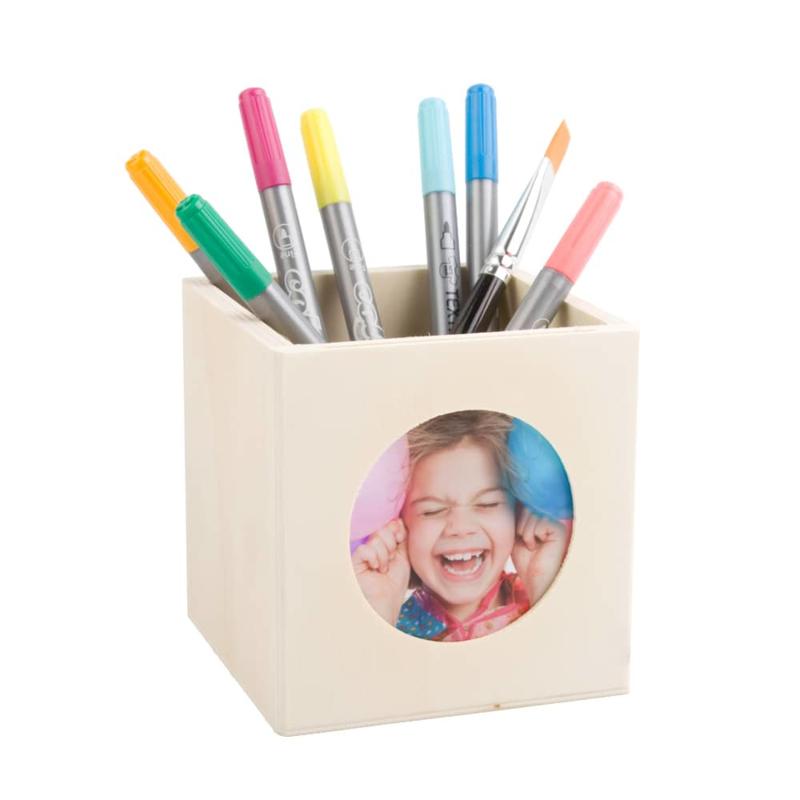 Pennenbakje met fotolijst - 10 cm