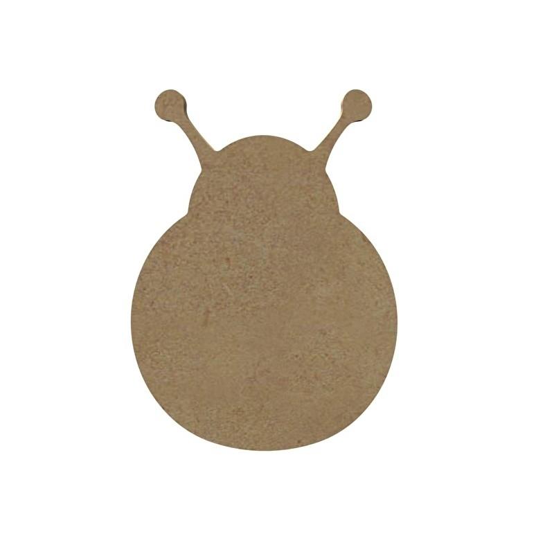 MDF Lieveheersbeestje - 10 cm