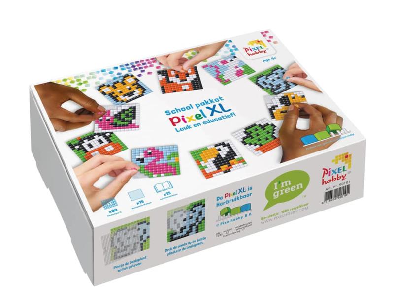 Pixelhobby School Pakket - Pixel XL - voor het pixelen van  15 basisplaatjes