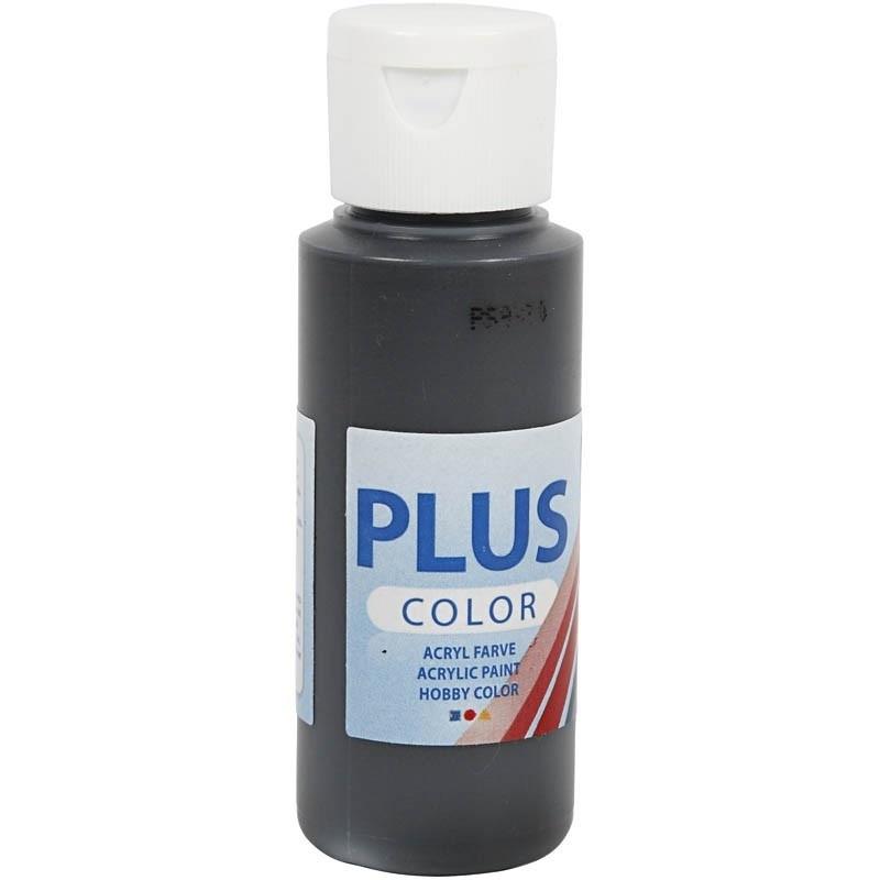 Plus Color Acrylverf Zwart 60 ml