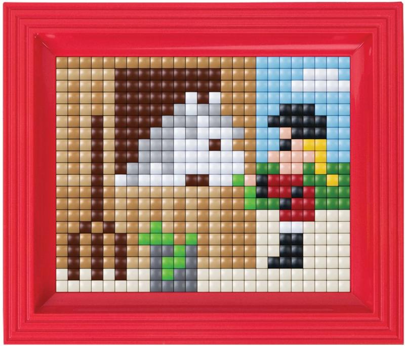 Pixelhobby XL - Complete set met Lijst - Paard met Meisje