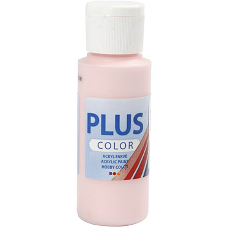 Plus Color Acrylverf Soft Pink 60 ml