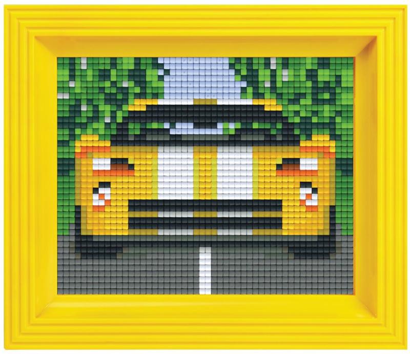 Pixelhobby Geschenkset incl. Lijst - Racewagen