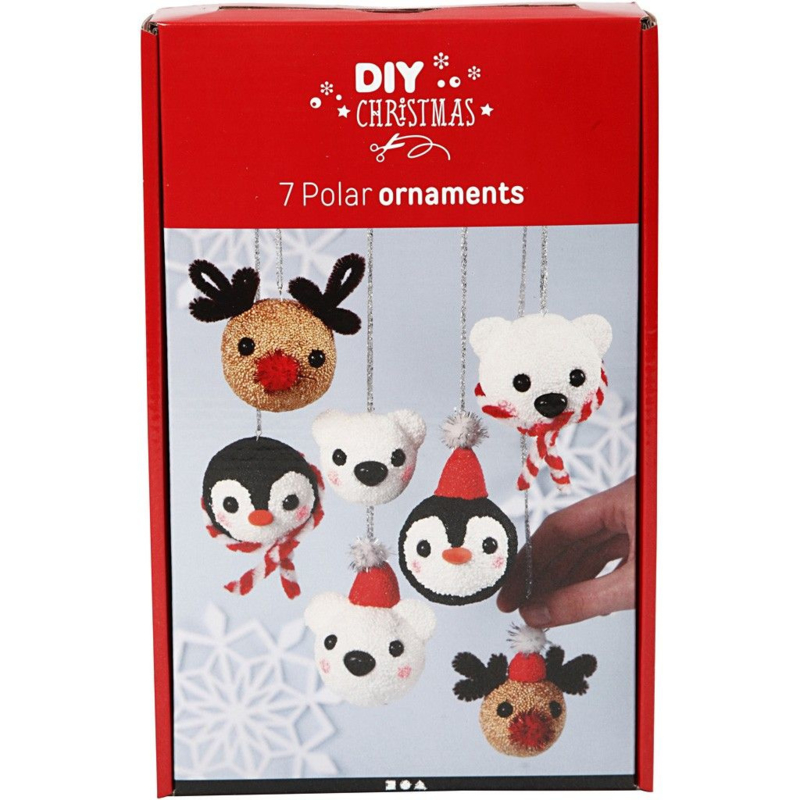 Foam Clay Knutselpakket Pooldier Kerstballen