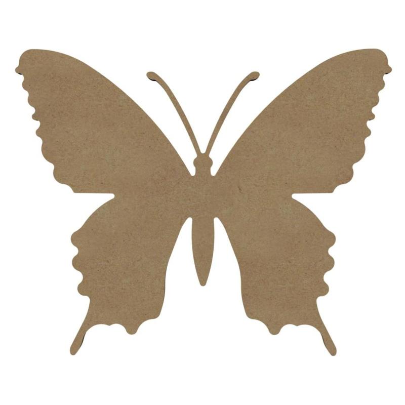 MDF Zomer Vlinder - 26 cm