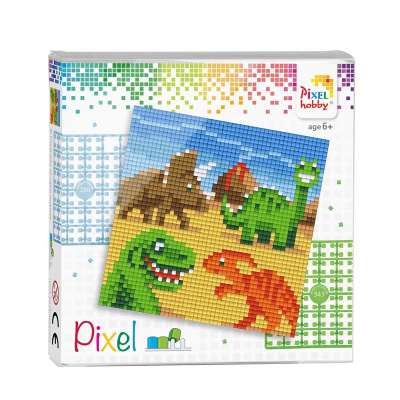 Pixelhobby - Complete Set - Dinosaurussen