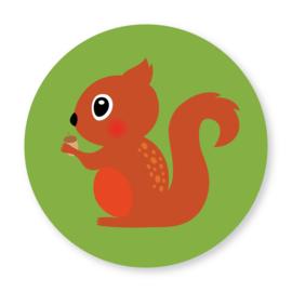 Sluitzegel eekhoorn groen