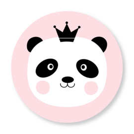 Sluitzegel panda roze