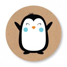 Sluitzegel Pinguin blauw