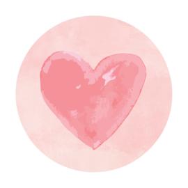 Sluitzegel watercolour roze