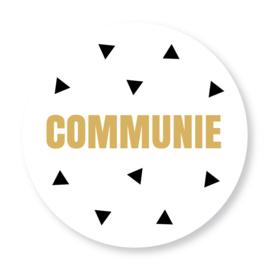 Sluitzegel communie driehoekjes