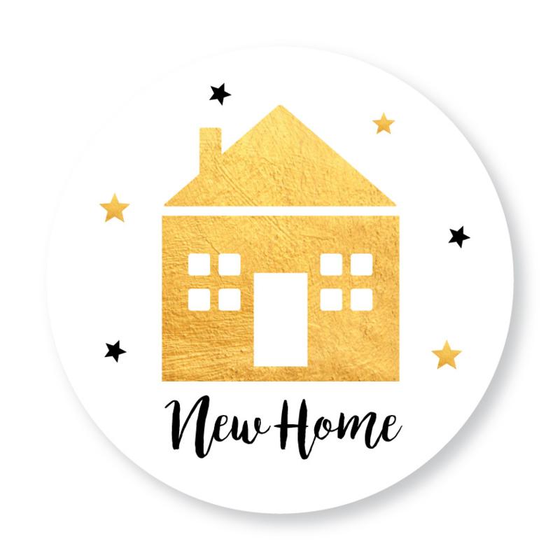 Sluitzegel New home huisje