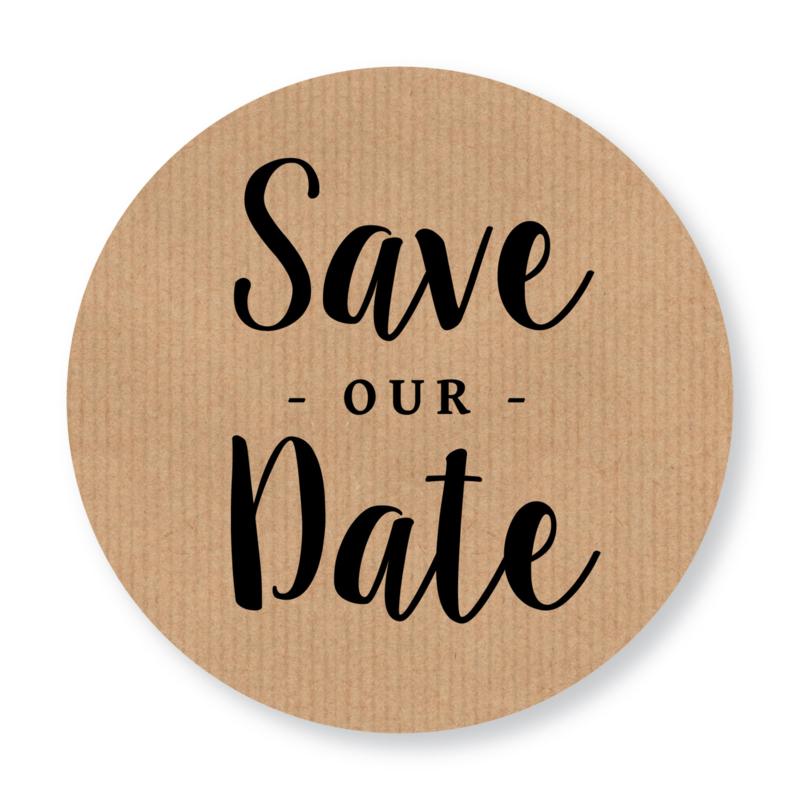 Sluitzegel kraft Save the Date