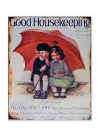 Good Housekeeping April 1926 - Rode Paraplu