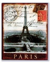 Paris Tour Eiffel rond 1900