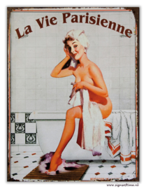 La vie Parisienne (pin up in bad)