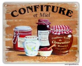 Confiture et miel