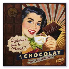 Quelqu'un a parlé de Chocolat?