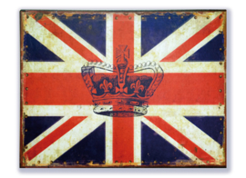 Union Jack met kroon