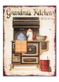 Grandma's kitchen (open 24 hours)