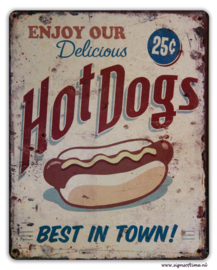 Enjoy our delicious Hotdogs - Best in town