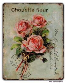 Chouette fleur (roosjes)