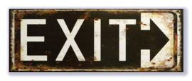 Exit (zwart-wit)