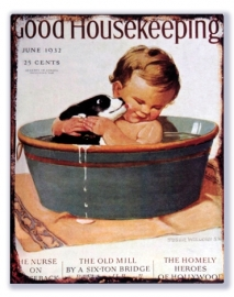 Good Housekeeping June 1932 - In bad