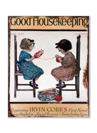 Good Housekeeping May 1927 - Breiende meisjes