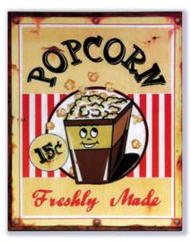 Popcorn 15c Freshly Made