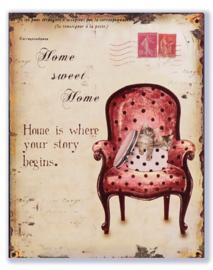 Home sweet Home - twee katjes in een hoedendoos