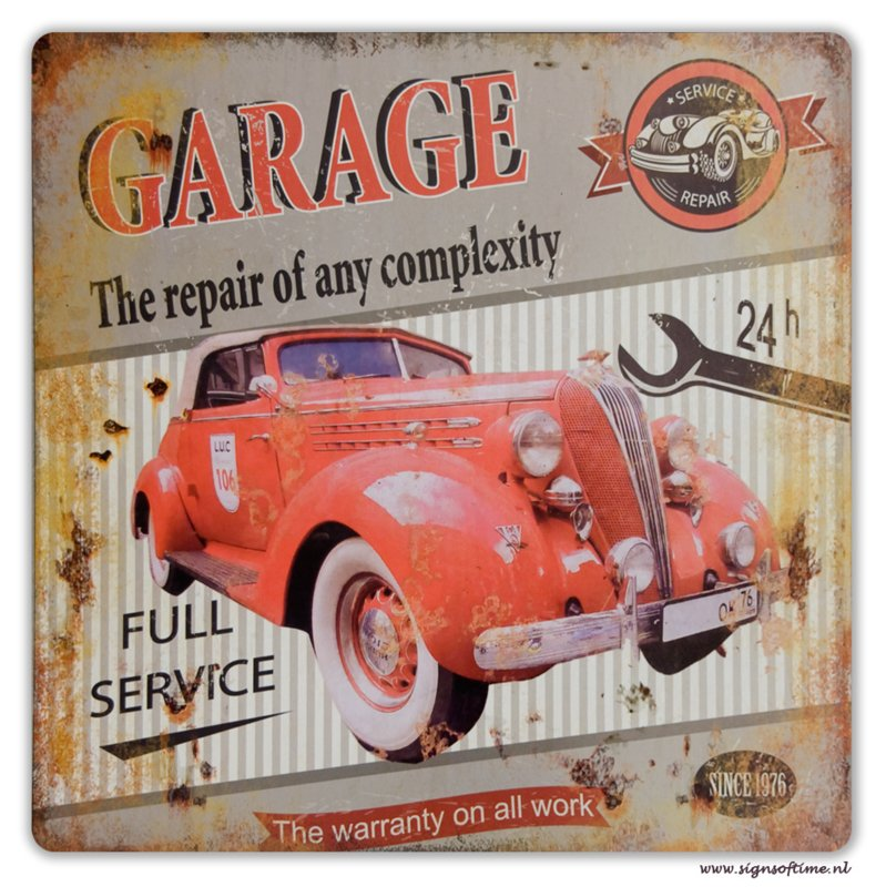 Garage - the repair of any complexity