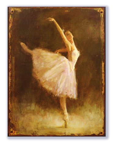 Ballerina (staand)