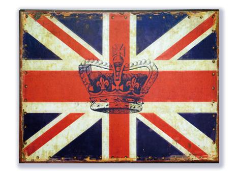 Union Jack met kroon