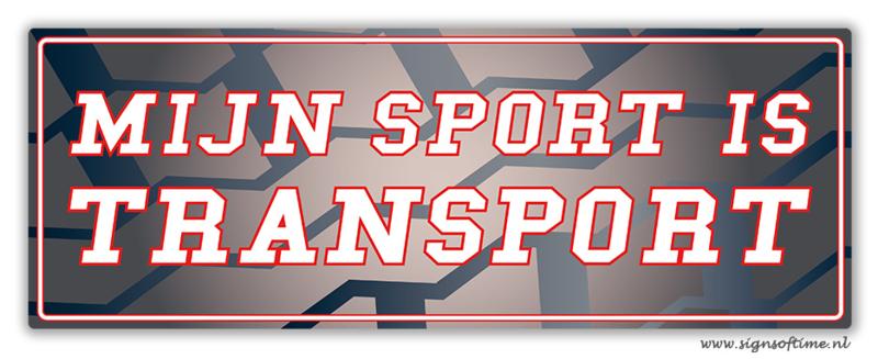 Mijn sport is Transport