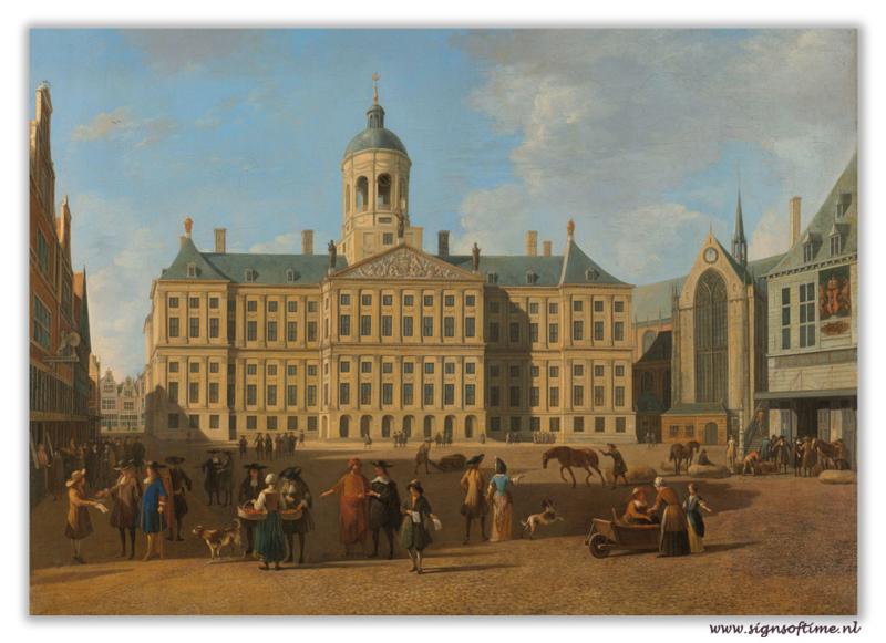 Amsterdam - Stadhuis op de dam
