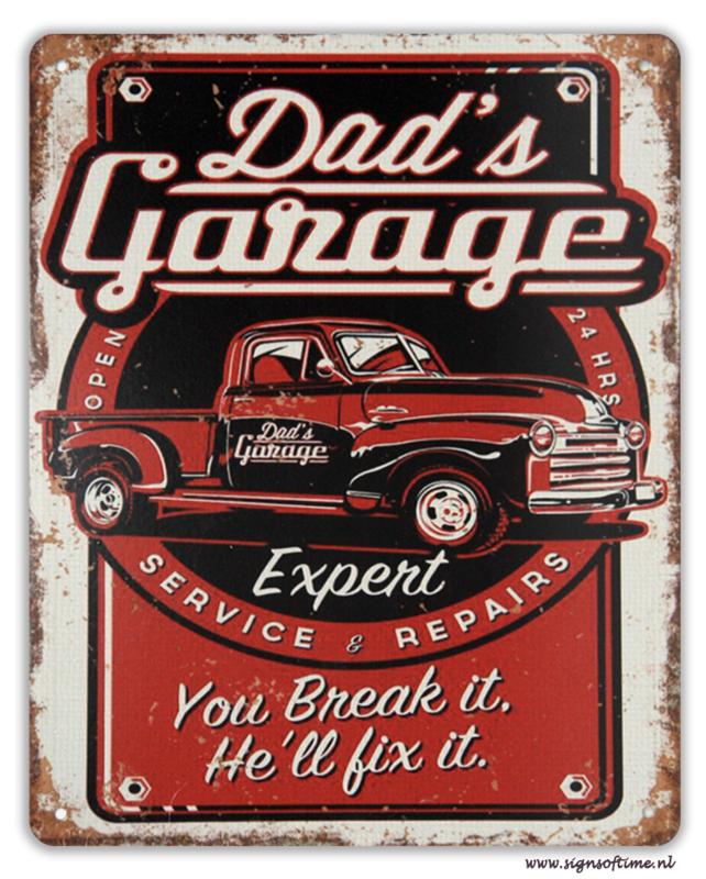 Dad's Garage - You break it, he'll fix it