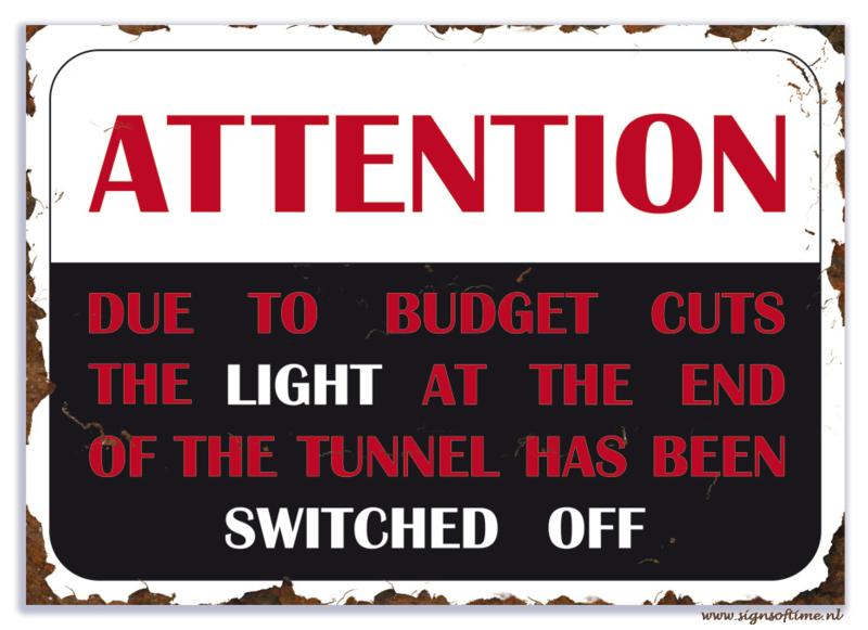 Attention, Due to budget cuts