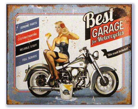 Best Garage for Motorcycles - Bikewash included